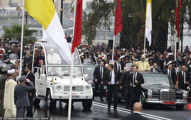 Pielgrzymka papieża do Maroka. Niebezpieczny incydent