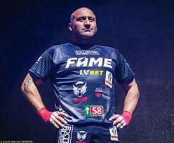 FAME MMA 6. Marcin Najman ostro trenuje. Zapowiada wojnę w oktagonie