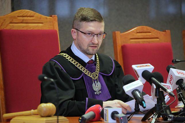 Sędzia Paweł Juszczyszyn ukarał Agnieszkę Kaczmarską z Kancelarii Sejmu