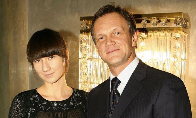 Cezary Pazura z córką Anastazją w 2007 roku.