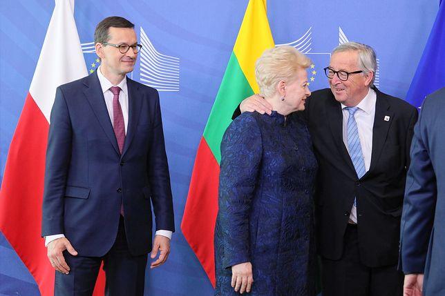 Mateusz Morawiecki na szczycie Unii w Brukseli