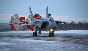 Rosja poderwała naddźwiękowe myśliwce. To kolejne działania w Arktyce