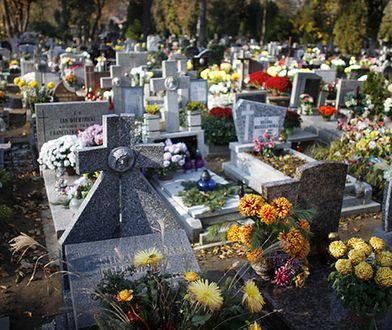 Nastolatkowie zniszczyli nagrobki na cmentarzu w miejscowości Zbrosławice