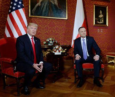 Politycy PiS liczą na kolejną wizytę Donalda Trumpa