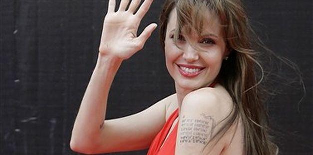 Angelina w czerwieni - bosko! FOTO