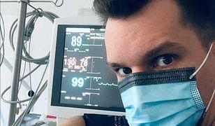 """Mateusz Sieradzan opowiada o pracy na SOR-ze. Zdradza, dlaczego został """"Panem pielęgniarką"""""""