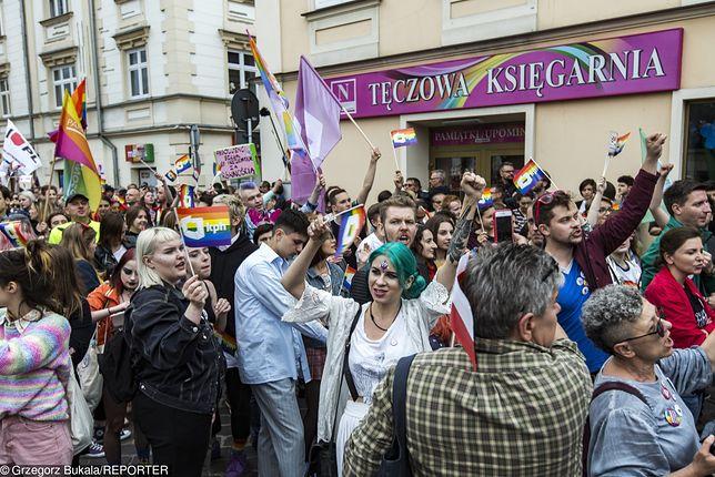 Marsz Równości w Rzeszowie, czerwiec 2018 r.