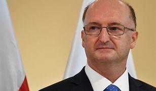 Wiceminister spraw zagranicznych Piotr Wawrzyk, kandydat PiS na posła