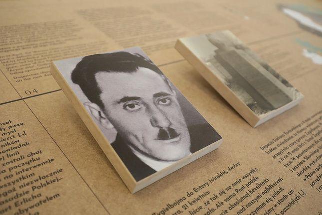 Zdjęcie Szmula Zygielbojma na wystawie z Żydowskim Instytucie Historycznym