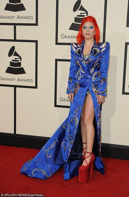 Lady Gaga jak David Bowie