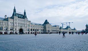Plac Czerwony w Moskwie to jedno z nalepiej rozpoznawalnych miejsc w Rosji