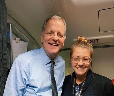 Maddie od 4 lat pracuje w American Airlines i nigdy nie zdarzyła jej się podobna wpadka