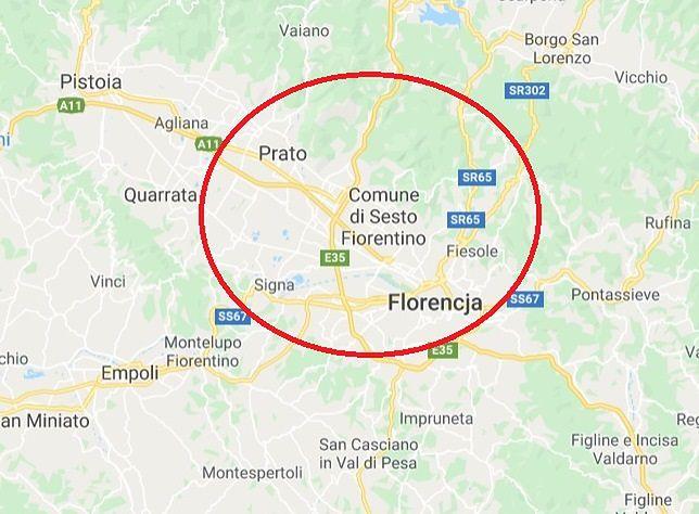 Włochy. Trzęsienie ziemi w pobliżu Florencji