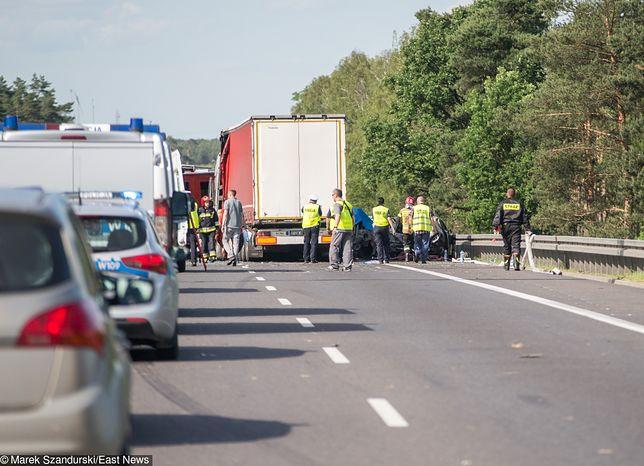 Dolnośląskie: tragiczny wypadek na S3. Zginęły dwie osoby