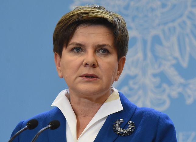 Beata Szydło spowodowała kolizję w Krakowie. Została ukarana mandatem.