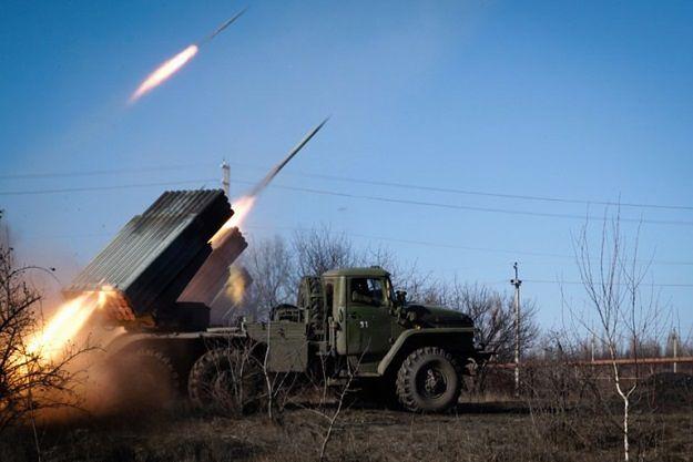 Ukraina: zaostrzenie w Donbasie, separatyści użyli gradów