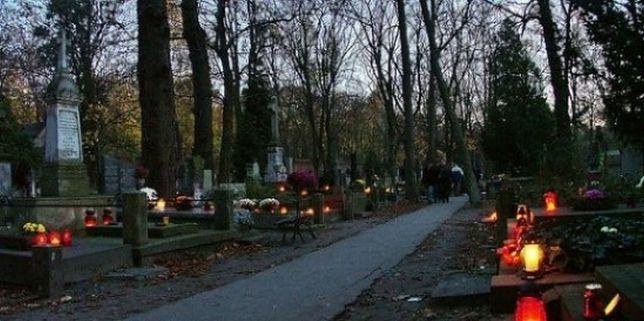 Okradł kobietę na cmentarzu. Pomógł przypadkowy mężczyzna