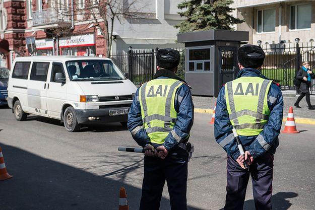 Pierwsze patrole policji w Kijowie