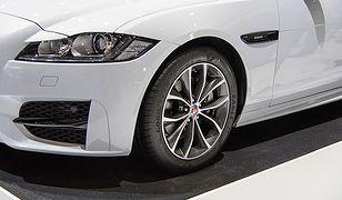 Jaguar XF fabrycznie na nowych oponach Goodyeara: Eagle F1 Asymmetric 3