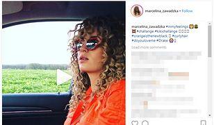Marcelina Zawadzka jest jedną z polskich celebrytek, które podjęły się Kiki Challenge