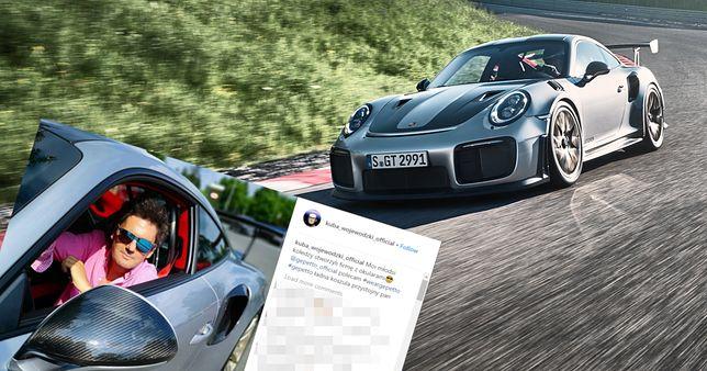 Porsche 911 GT2 RS to najnowsze auto Kuby Wojewódzkiego