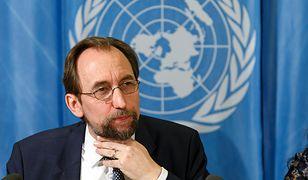 Zeid Ra'ad Al Hussein opublikował coroczny raport na temat praw człowieka