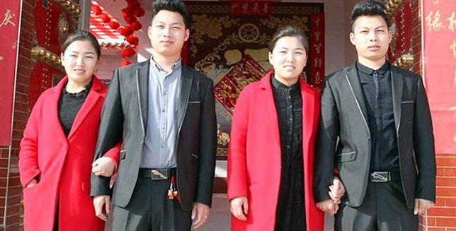 Bliźniacy poślubili bliźniaczki. I mają problem
