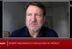 """Robert Więckiewicz o """"Weselu"""". """"Film porusza ważną kwestię, ale nic nie zmieni"""""""