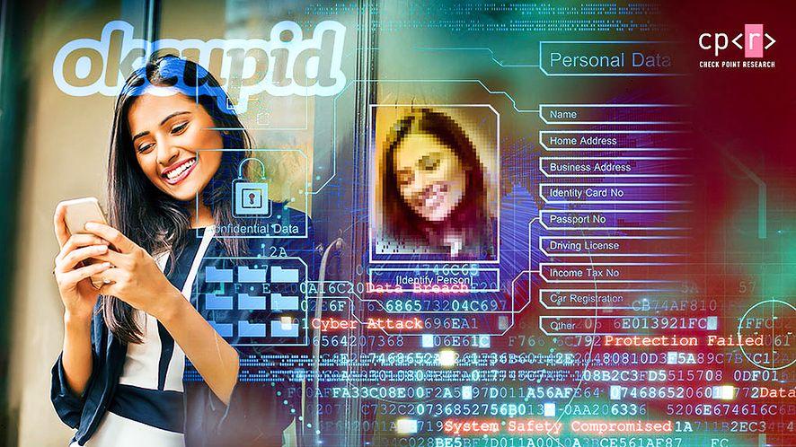 Aplikacja OKCupid mogła paść ofiarą hakerów, fot. Check Point