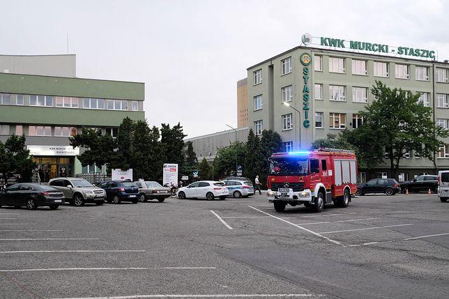 Trwa akcja ratownicza w kopalni Murcki-Staszic w Katowicach