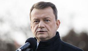 Mariusz Błaszczak skomentował atak rakietowy Iranu na bazy USA w Iraku