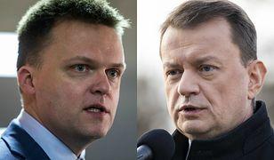 Mariusz Błaszczak skrytykował doradcę Szymona Hołowni generała Mirosława Różańskiego