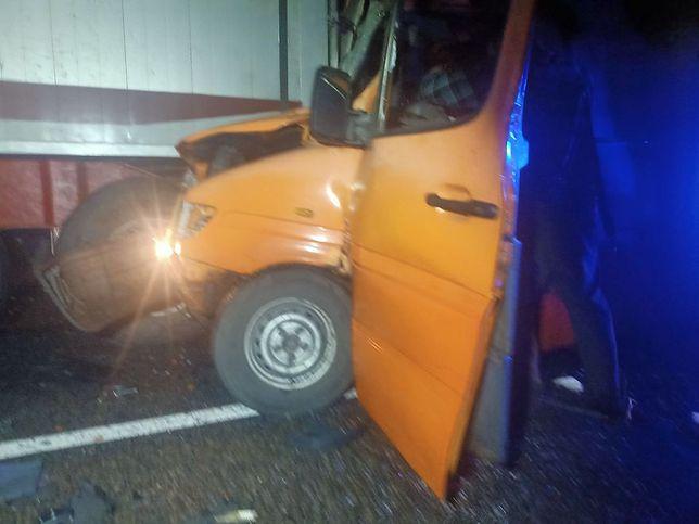 Cztery samochody zderzyły się na dąbrowskim odcinku S1.