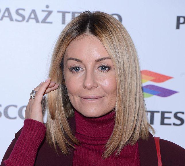 Małgorzata Rozenek podzieliła się sekretem swoich pięknych włosów