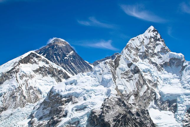 Mount Everest, zdjęcie ilustracyjne