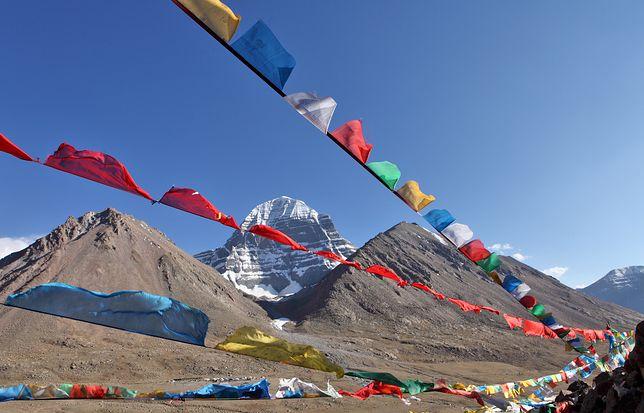 Góra Kajlas w Tybecie