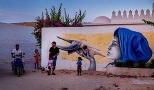 Djerba. Tunezja. Wyjątkowe graffiti. Zapomniana wioska odzyskała blask