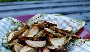 Domowe chipsy z jabłek