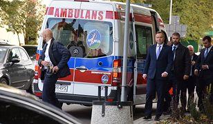 Oświęcim: samochód z kolumny prezydenckiej potrącił dziecko na pasach
