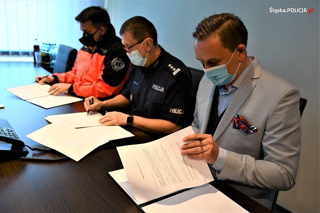 Śląskie. Policjanci i ratownicy medyczni będą się wspólnie szkolić.