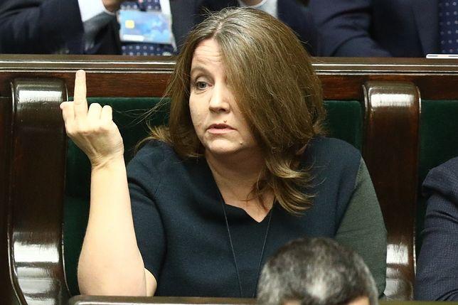 Joanna Lichocka z PiS w Sejmie