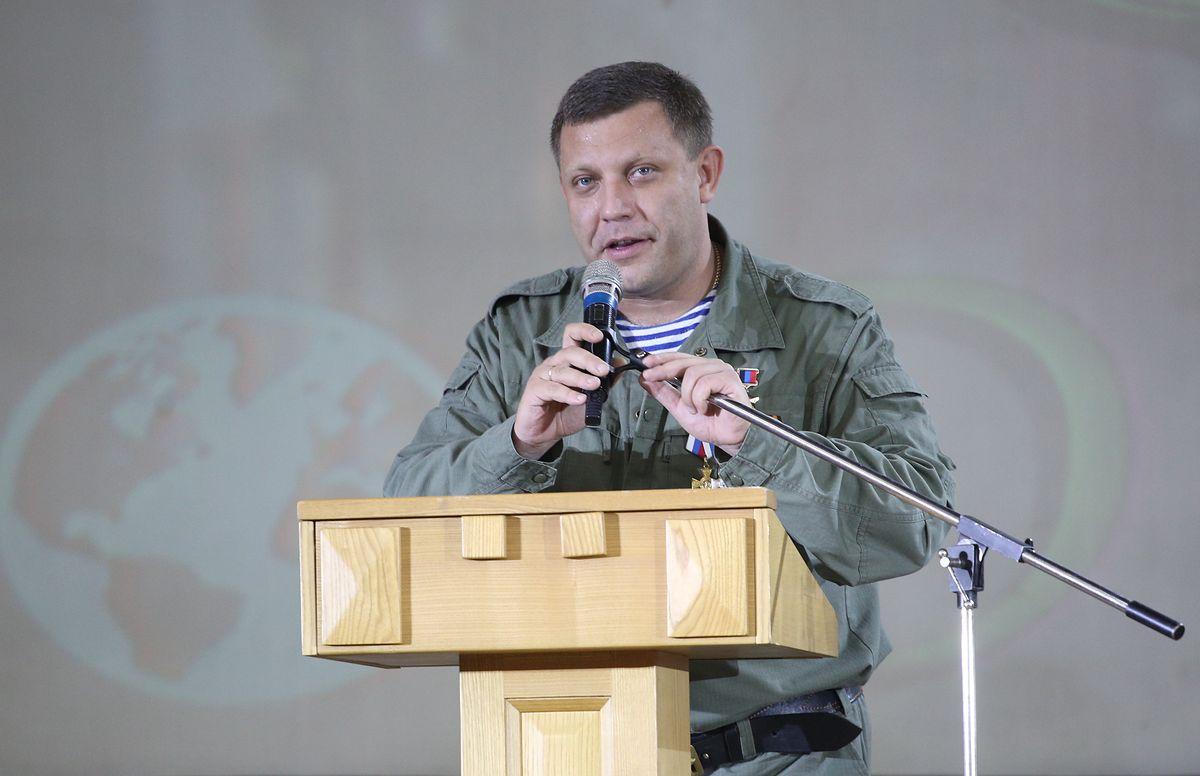 Nie żyje Aleksander Zacharczenko. Lider prorosyjskich separatystów zginął w wybuchu