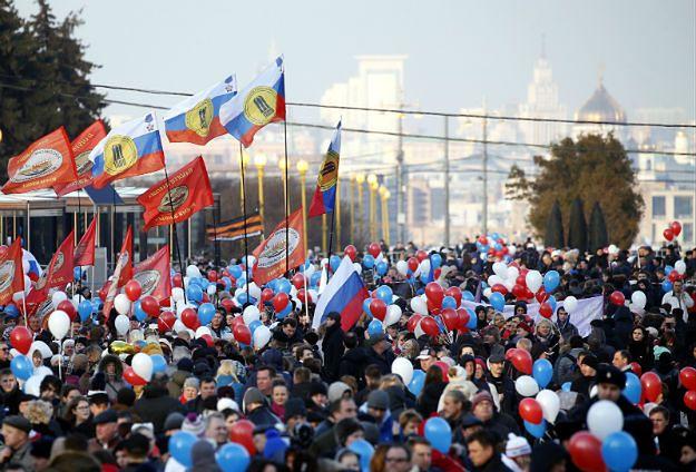 Rosjanie świętowali 3. rocznicę aneksji Krymu