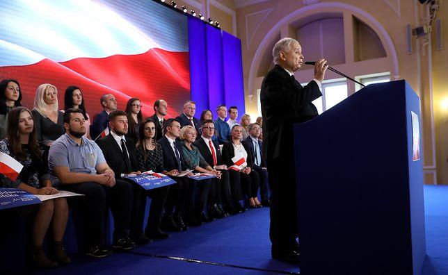 Prezes PiS na konwencji Solidarnej Polski