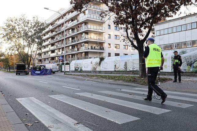 Tragiczny wypadek na ul. Sokratesa w Warszawie