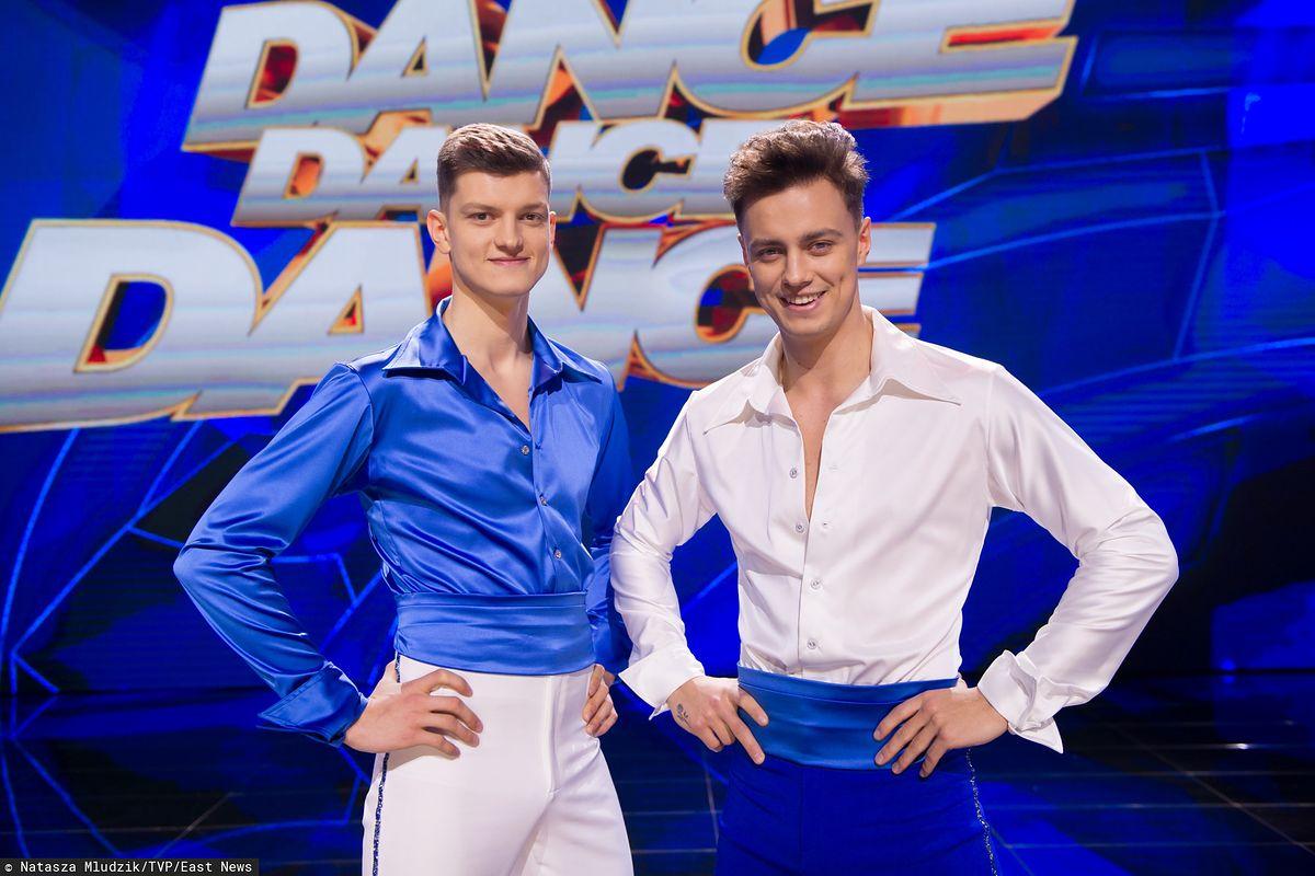 """Rafał Jonkisz zatańczył z bratem w """"Dance, Dance, Dance"""". 20-latek pracował w chłodni"""