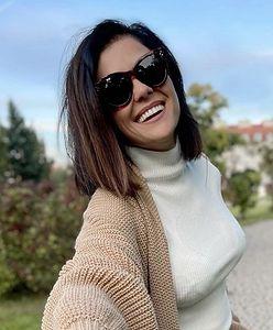 Katarzyna Cichopek w modnej stylizacji na jesień. Aktorka wybrała skórzane szorty!
