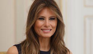 Pierwszy krok Melanii Trump na drodze do modowego recyklingu. Tę sukienkę już u niej widzieliśmy!