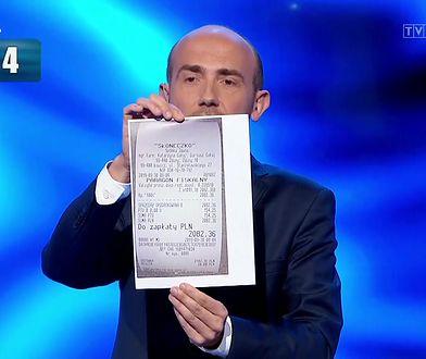 Borys Budka zaprezentował paragon w debacie wyborczej