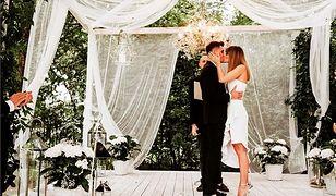 Aleksandra Kisio wzięła ślub! Aktorka pochwaliła się zdjęciem z wesela